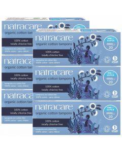 6er Set Natracare Bio-Tampons super