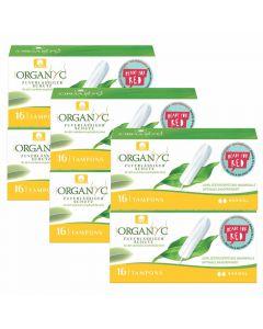 6er Set Organyc Bio-Tampons normal