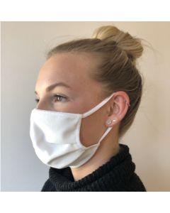 Mund-Nasen-Maske Vorteilspack weiß 5 Stück