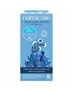 Natracare Bio-Tampons mit Applikator super