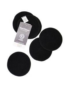 Waschbare Abschminkpads schwarz
