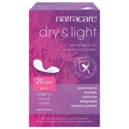 Natracare dry and light Bioslipeinlagen bei leichter Blasenschwäche
