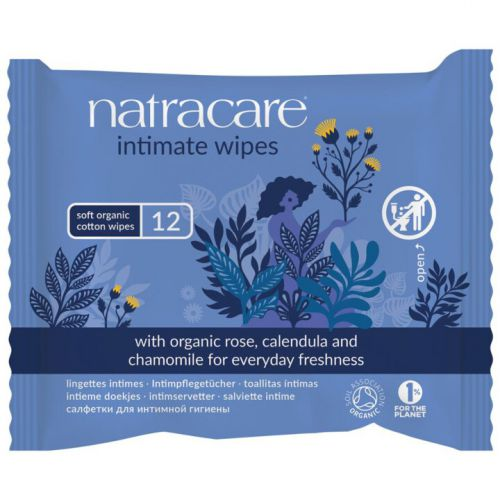 Natracare Intimpflegetücher