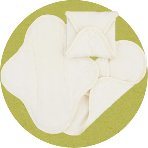 Stoffbinden natur aus Bio-Baumwolle 3 Stück