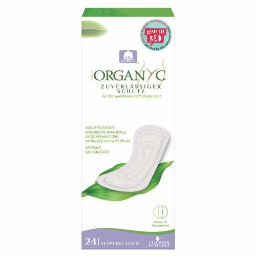 Organyc Bio-Slipeinlagen